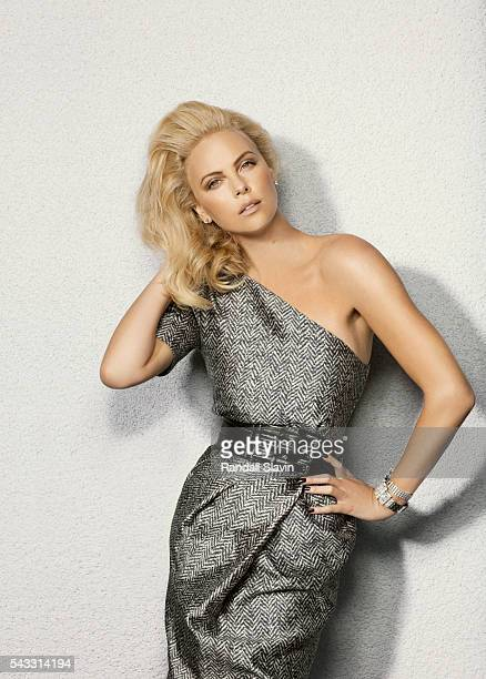 Actress Charlize Theron is photographed for C Magazine on September 1 2009 in Malibu California