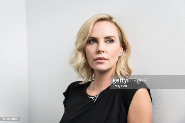 Actress Charlize Theron is photographed for New York Times on June 22 2017 in Los Angeles California