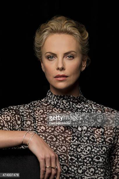 Actress Charlize Theron is photographed for USA Today on May 2 2015 at Siren Studios in Hollywood California