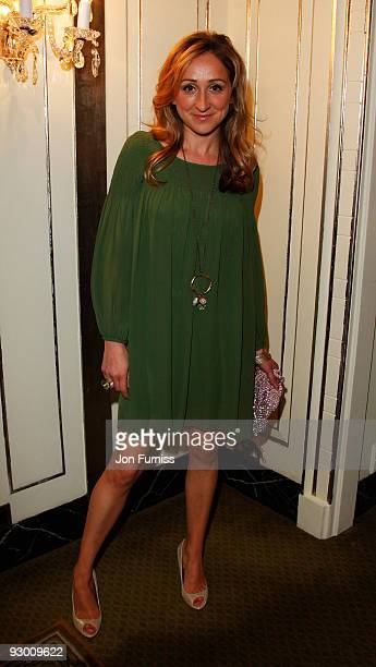 Actress Charlotte Bellamy arrives at the TV Quick TV Choice Awards Held at the Dorchester Hotel on September 8 2008 in London England