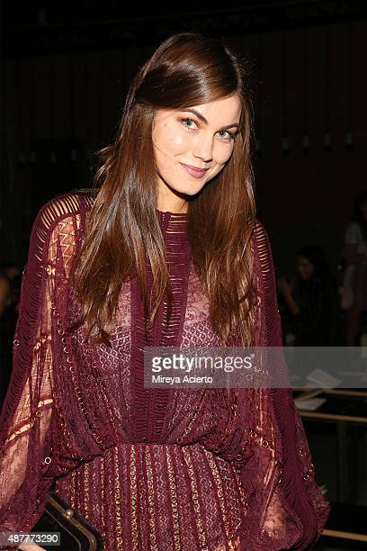 Actress Charlotte Best attends the Zimmermann fashion show during Spring 2016 New York Fashion Week at Art Beam on September 11 2015 in New York City