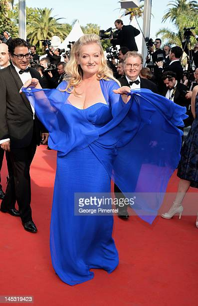 Actress Charlotte de Turckheim attends the Mud Premiere during the 65th Annual Cannes Film Festival at Palais des Festivals on May 26 2012 in Cannes...