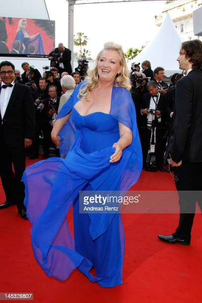Actress Charlotte de Turckheim attends the 'Mud' Premiere during the 65th Annual Cannes Film Festival at Palais des Festivals on May 26 2012 in...