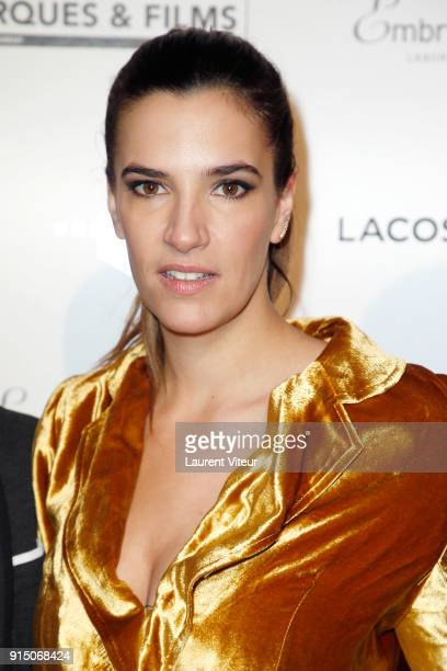 Actress Charlotte Gabris attends '25th Trophees du Film Francais' at Palais Brongniart on February 6 2018 in Paris France