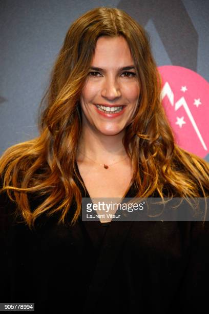 Actress Charlotte Gabris attends Opening Ceremony during the 21st L'Alpe D'Huez Comedy Film Festival on January 16 2018 in Alpe d'Huez France