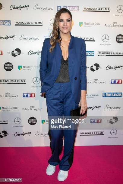 Actress Charlotte Gabris attends the 26th Trophees Du Film Francais Photocall at Palais Brongniart on February 05 2019 in Paris France