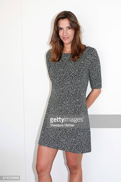 Actress Charlotte Gabris is photographed on May 17 2015 in Cannes France