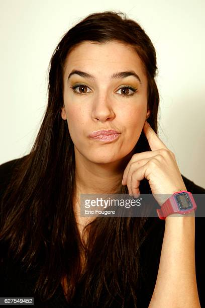 Actress Charlotte Gabris Photographed in PARIS