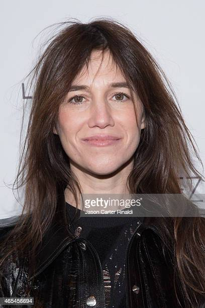Actress Charlotte Gainsbourg attends '3 Hearts' New York Premiere at Alice Tully Hall on March 6 2015 in New York City