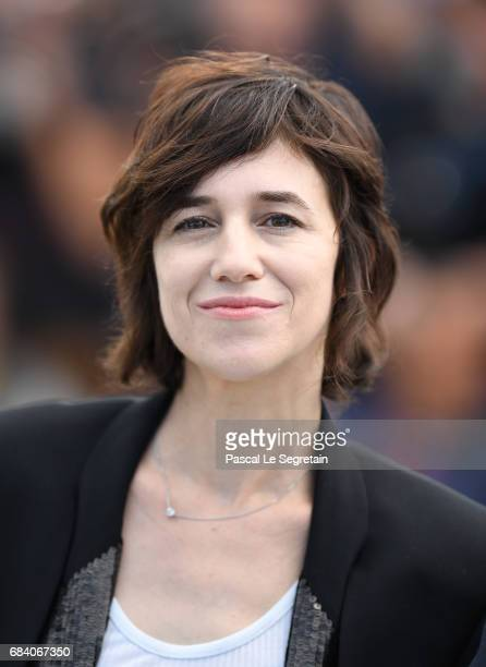 Actress Charlotte Gainsbourg attends the 'Ismael's Ghosts ' photocall during the 70th annual Cannes Film Festival at Palais des Festivals on May 17...