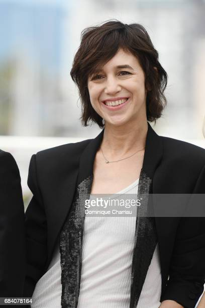 Actress Charlotte Gainsbourg attends the Ismael's Ghosts photocall during the 70th annual Cannes Film Festival at Palais des Festivals on May 17 2017...