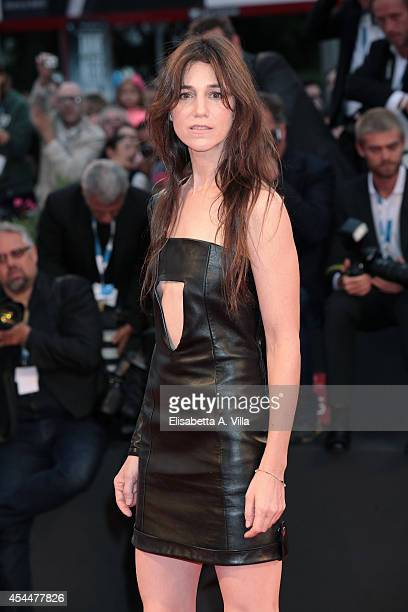 Actress Charlotte Gainsbourg attends the 'Nymphomaniac Volume 2 Directors Cut' Premiere during the 71st Venice Film Festival on September 1 2014 in...