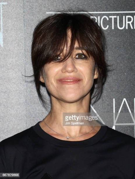 Actress Charlotte Gainsbourg attends the screening of Sony Pictures Classics' 'Norman' hosted by The Cinema Society with NARS AVION at the Whitby...