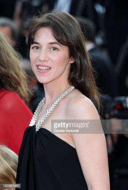Actress Charlotte Gainsbourg attends 'The Tree' Premiere held at the Palais des Festivals during the 63rd Annual International Cannes Film Festival...
