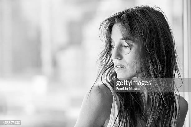 Actress Charlotte Gainsbourg is photographed for Studio Cine Live on September 7 2014 in Toronto Canada