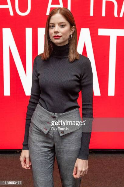 Actress Charlotte Hope attends SAGAFTRA Foundation Conversations The Spanish Princess at The Robin Williams Center on April 29 2019 in New York City