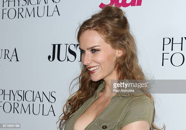 Actress Charlotte Kirk attends Star Magazine's 2016 Hollywood Rocks event at Le Jardin on April 14 2016 in Hollywood California