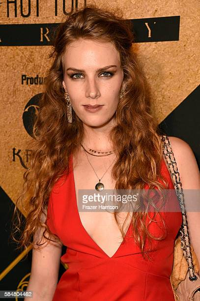 Actress Charlotte Kirk attends the 2016 MAXIM Hot 100 Party at the Hollywood Palladium on July 30 2016 in Los Angeles California