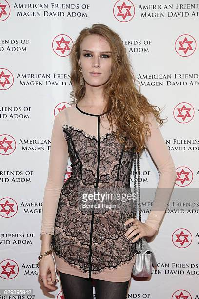 Actress Charlotte Kirk attends the American Friends Of Magen David Adom New York Gala on December 12 2016 in New York City
