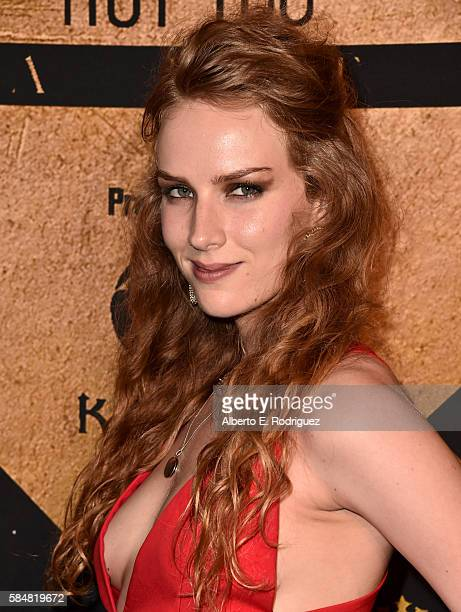 Actress Charlotte Kirk attends the Maxim Hot 100 Party at the Hollywood Palladium on July 30 2016 in Los Angeles California