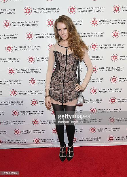 Actress Charlotte Kirkattends the American Friends Of Magen David Adom New York Gala on December 12 2016 in New York City