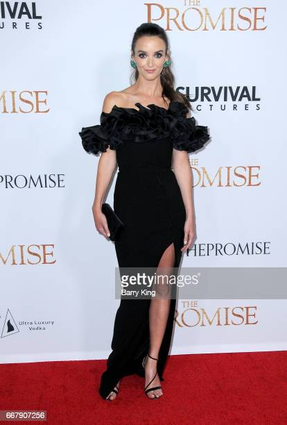 Actress Charlotte Le Bon attends premiere of Open Roads Films' 'The Promise' at TCL Chinese Theatre on April 12 2017 in Hollywood California