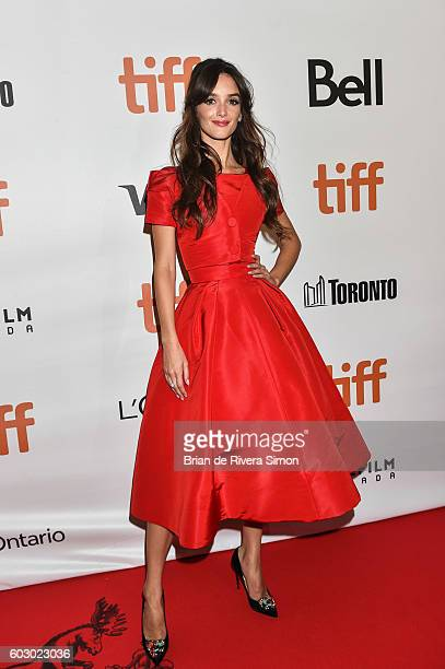 Actress Charlotte Le Bon attends The Promise premiere during 2016 Toronto International Film Festival at Roy Thomson Hall on September 11 2016 in...