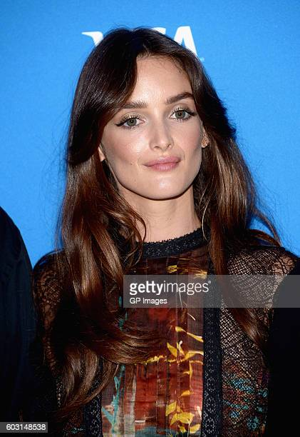 Actress Charlotte Le Bon attends The Promise press conference during 2016 Toronto International Film Festival at TIFF Bell Lightbox on September 12...