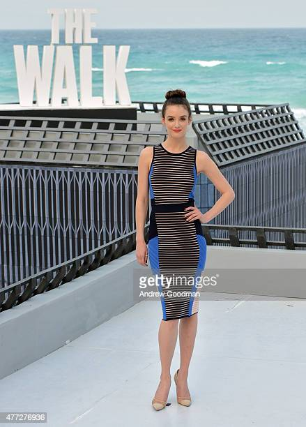 """Actress Charlotte Le Bon attends the """"The Walk"""" photo call during Summer Of Sony Pictures Entertainment 2015 at The Ritz-Carlton Cancun on June 15,..."""