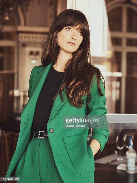 Actress Charlotte Le Bon is photographed for Self Assignment on June 11 2016 in Cabourg France
