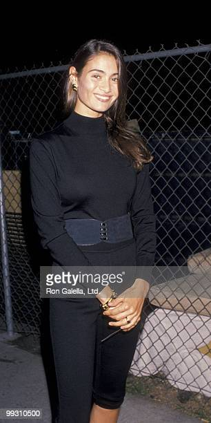 Actress Charlotte Lewis attends the birthday party for Herb Ritts on August 13 1989 in Hollywood California