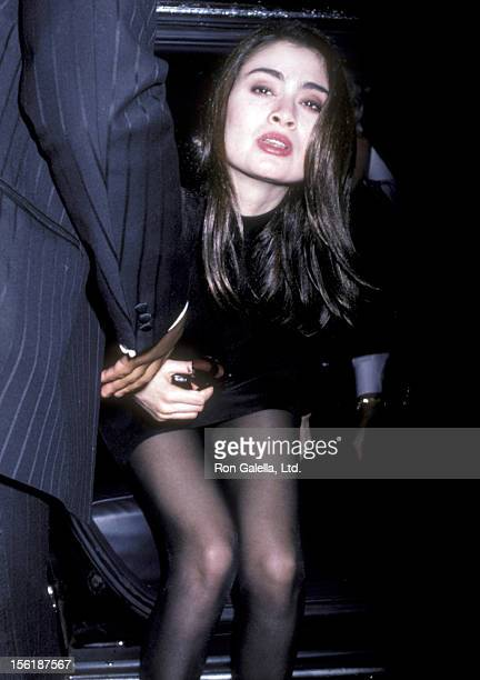 Actress Charlotte Lewis attends the premiere of 'The Golden Child' on December 11 1986 at the Loew's Astor Plaza Theater in New York City
