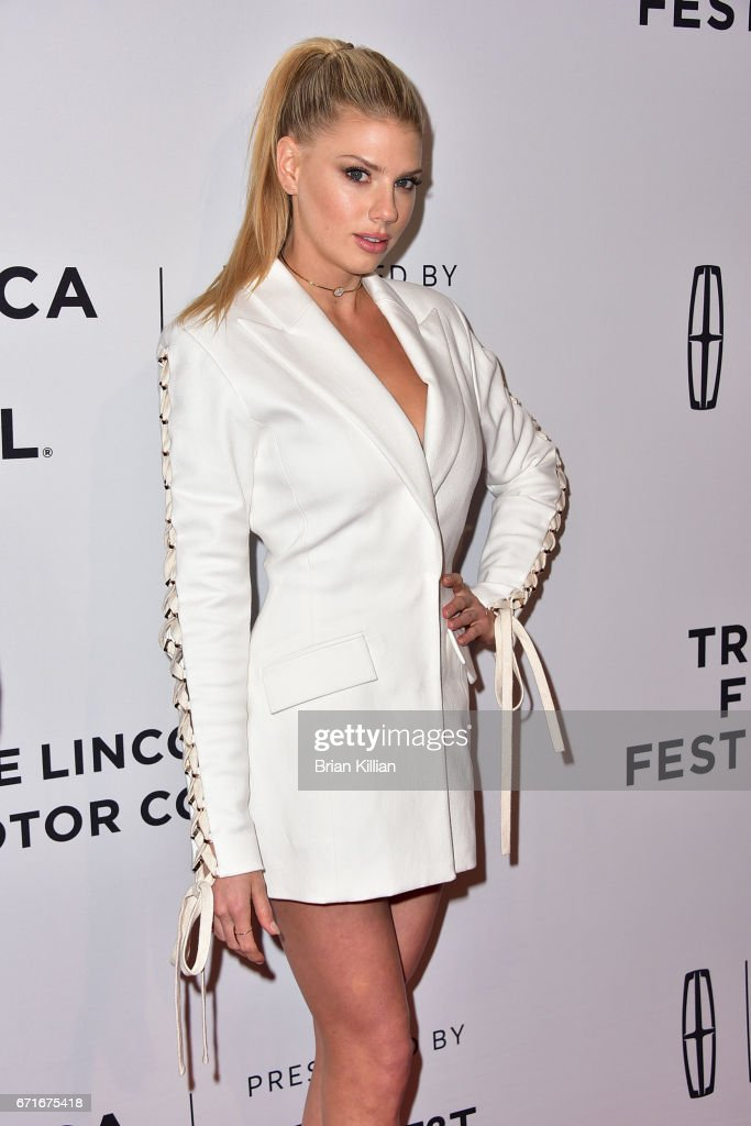 Actress Charlotte McKinney attends the 2017 Tribeca Film Festival 'Literally, Right Before Aaron' screening at SVA Theatre on April 22, 2017 in New York City.