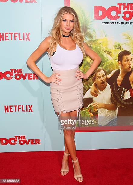 Actress Charlotte McKinney attends the premiere of Netflix's 'The Do Over' at Regal LA Live Stadium 14 on May 16 2016 in Los Angeles California