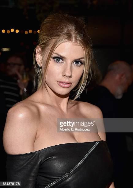 Actress Charlotte McKinney attends the premiere party for Crackle's 'Mad Families' at Catch on January 9 2017 in West Hollywood California