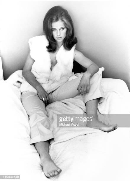Actress Charlotte Rampling, 1965.