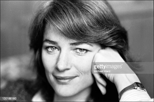 Actress Charlotte Rampling 1980