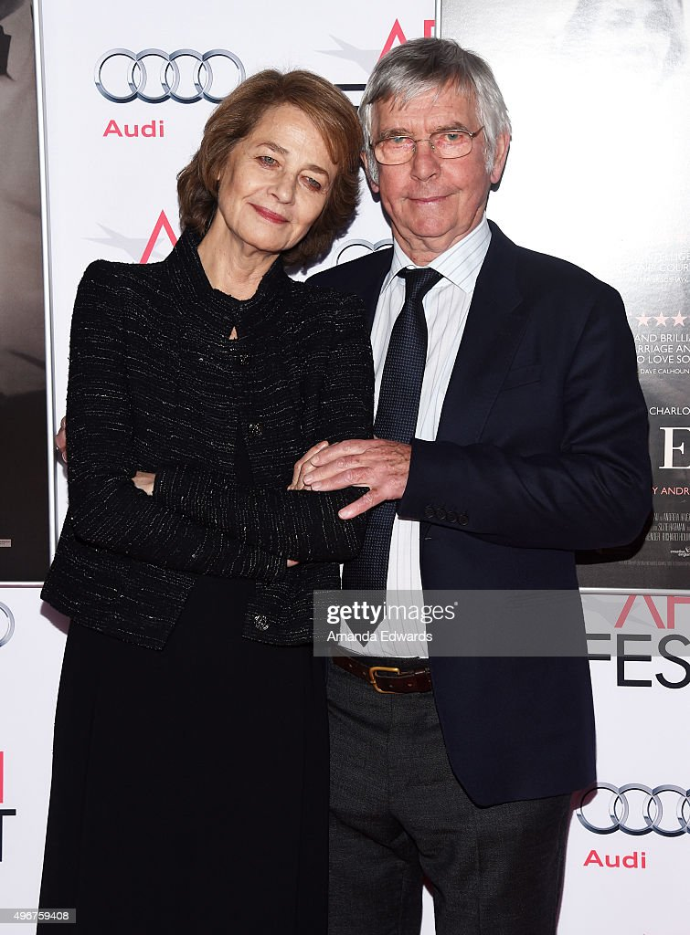 AFI FEST 2015 Presented By Audi A Tribute To Charlotte Rampling And Tom Courtenay - Arrivals : Fotografía de noticias