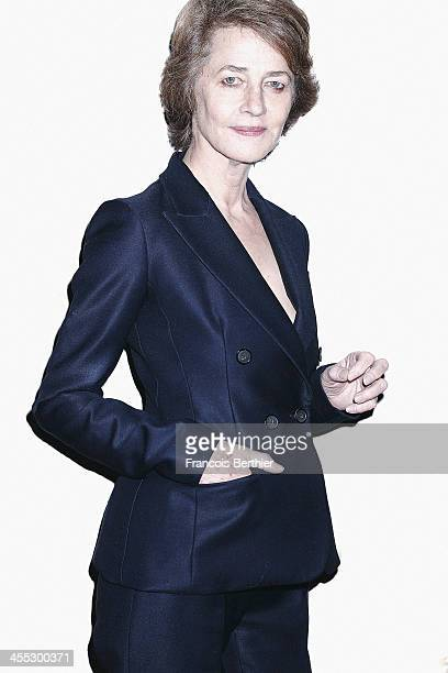 Actress Charlotte Rampling is photographed for Self Assignment during the 13th Marrakech Film Festival on December 2, 2013 in Marrakech, Morocco.