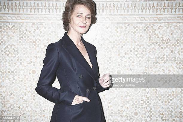 Actress Charlotte Rampling is photographed for Self Assignment during the 13th Marrakech Film Festival on December 2 2013 in Marrakech Morocco