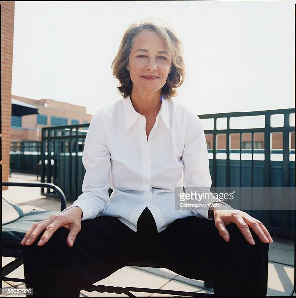 Actress Charlotte Rampling is photographed for Self Assignment on September 1 2007 in Toronto Ontario