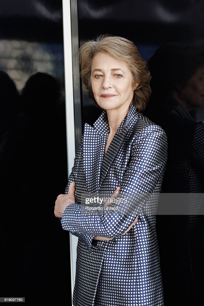 Actress Charlotte Rampling is photographed for Self Assignment on September 8, 2017 in Venice, Italy. (Photo by Riccardo Ghilardi/Contour by Getty Images).