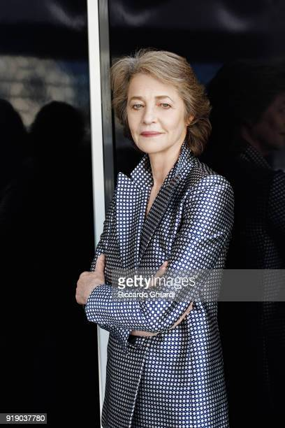 Actress Charlotte Rampling is photographed for Self Assignment on September 8 2017 in Venice Italy