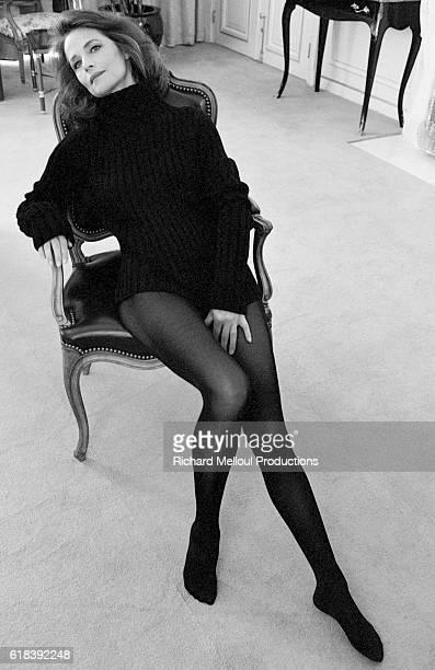 Actress Charlotte Rampling