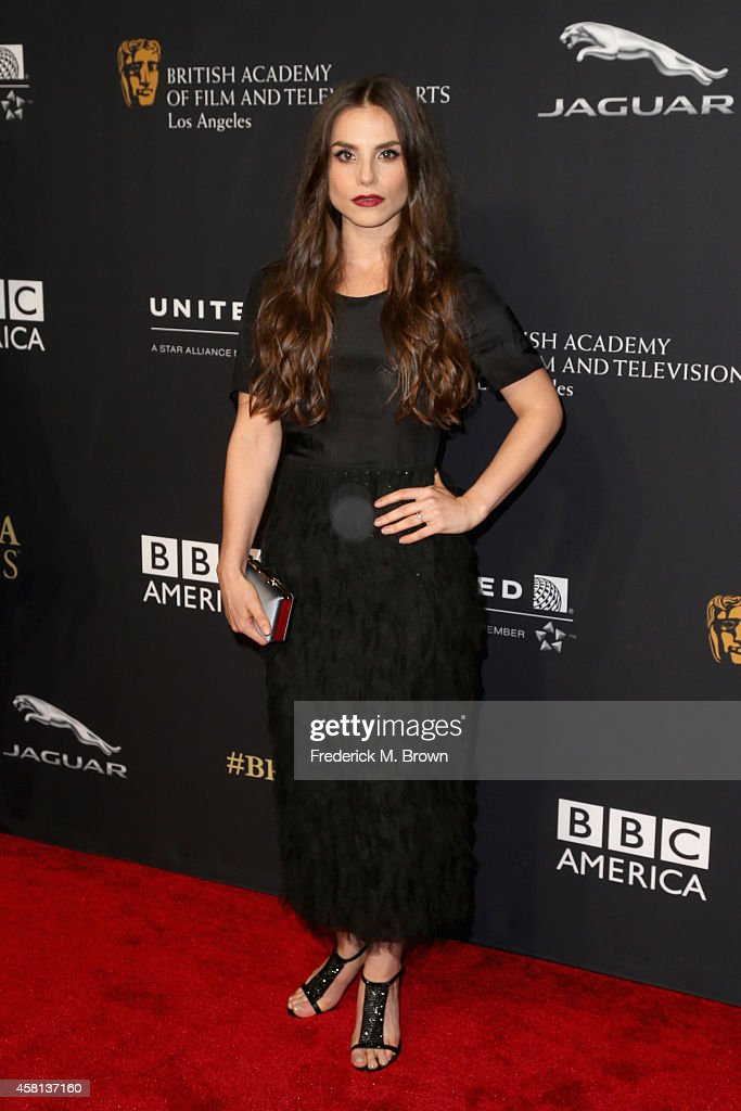 Actress Charlotte Riley wearing Burberry attends the BAFTA Los Angeles Jaguar Britannia Awards presented by BBC America and United Airlines at The Beverly Hilton Hotel on October 30, 2014 in Beverly Hills, California.