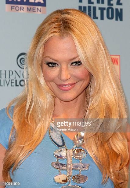 Actress Charlotte Ross arrives at Perez Hilton's Blue Ball Birthday Celebration on March 26 2011 in Los Angeles California