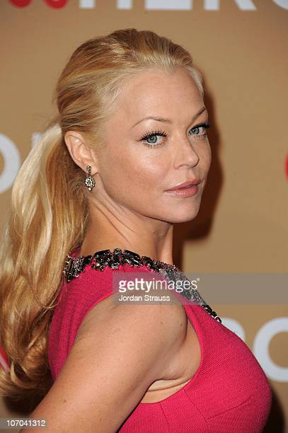 Actress Charlotte Ross arrives at the 2010 CNN Heroes An AllStar Tribute held at The Shrine Auditorium on November 20 2010 in Los Angeles California...