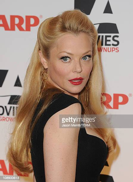 Actress Charlotte Ross arrives at the AARP Magazine's 10th Annual Movies For Grownups Awards at the Beverly Wilshire Four Seasons Hotel on February 7...
