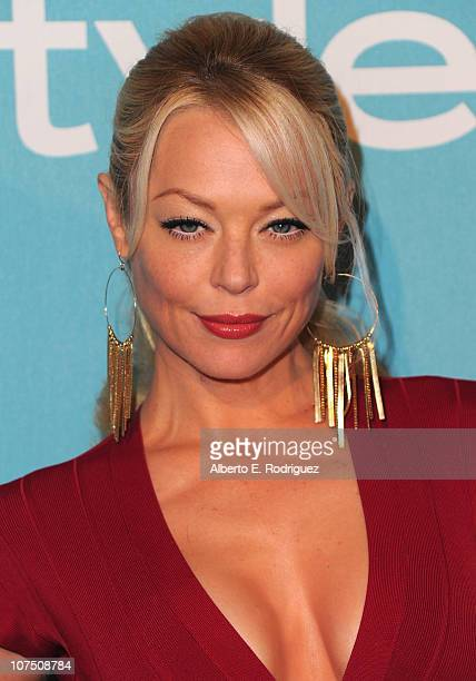 Actress Charlotte Ross arrives at The Hollywood Foreign Press Associationand InStyle's Miss Golden Globe 2011 introduction on December 9 2010 in West...