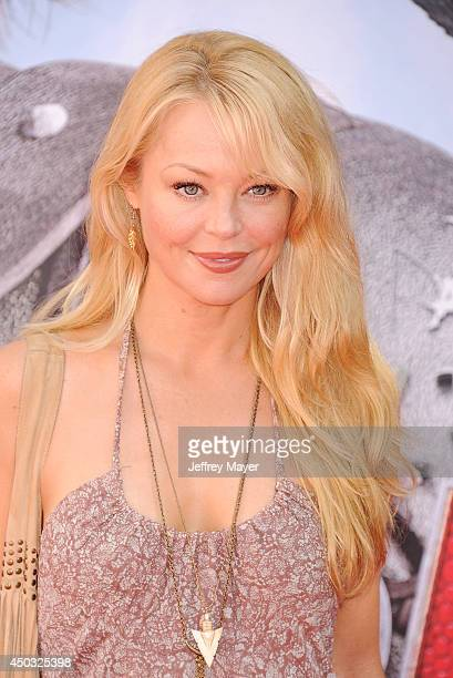 Actress Charlotte Ross arrives at the Los Angeles premiere of 'How To Train Your Dragon 2' at the Regency Village Theatre on June 8 2014 in Westwood...